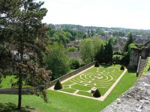 11-vue du jardin de l'évêché-C1CP