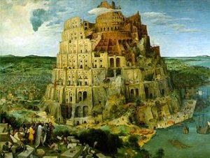 Pieter Bruegel. La tour de Babel