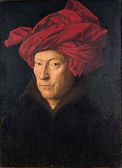 Van Eyck. Auto portrait