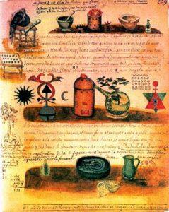Quatrième page de l'alchimie de Nicolas Flamel-WEB