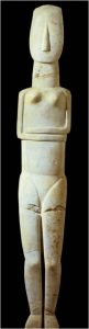 cyclades statuette