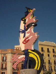 008_Cap_de_Barcelona,_Roy_Lichtenstein-WEB