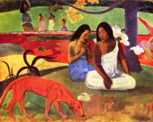 Arearea,_by_Paul_Gauguin-CAWEB