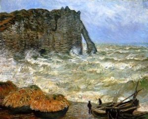 Etretat-rough-seas-Monet-WEB