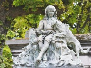 Boy-and-Dog-Pere-Lachaise-CAWEB