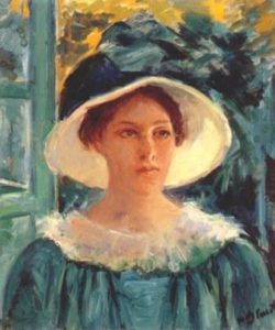 Cassatt_Mary_Young_Woman_in_Green,_Outdoors_in_the_Sun_1914-WEB