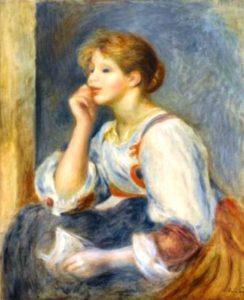 Renoir-femme à la lettre-WEB