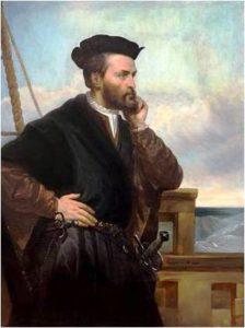 Jacques Cartier – Théophile Hamel - 1844_CA