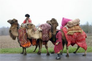 Les marchands de la route