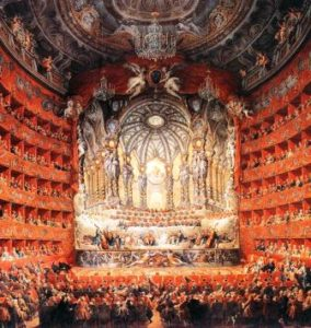 Pannini, Giovanni Paolo Musical Fête 1747-CARWEB