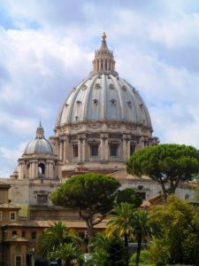 Dôme de la basilique Saint-Pierre du Vatican, Italie
