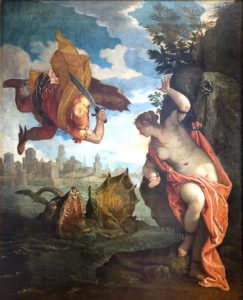 Véronèse, Persée et Andromède - CA
