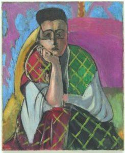 Matisse- Femme à la voilette-CWEB