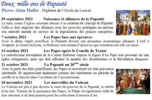 Deux mille ans de Papauté